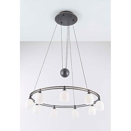 Holtkoetter 5559 hbob g5001 halogen low voltage contemporary chandelier 9 light hand