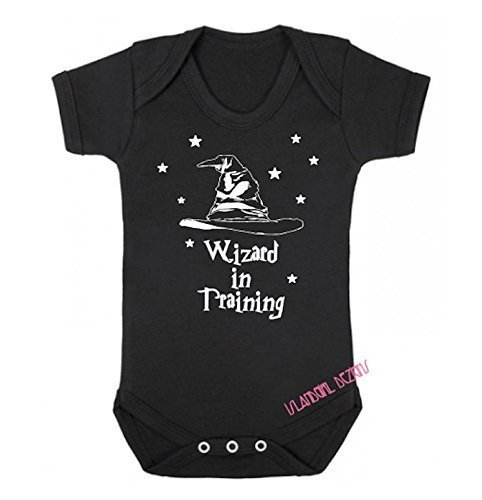 WIZARD IN TRAINING Baby Romper Bodysuit Onesie