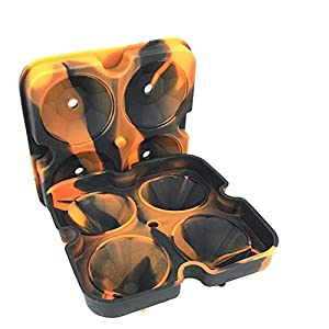 Chanhan, Vassoio per cubetti di Ghiaccio con Coperchio, Stampo in Silicone per cubetti di Ghiaccio, vaschetta per Gelati… 1 spesavip