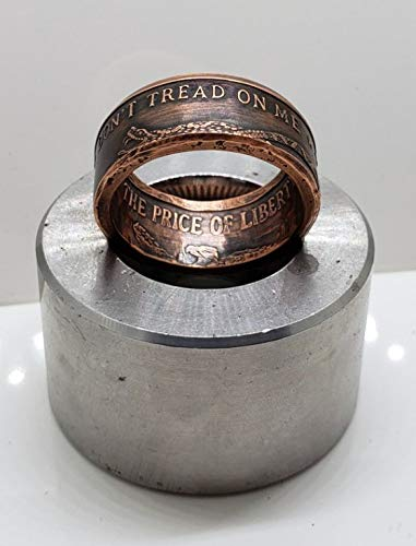 Don't Tread On Me Copper Ring