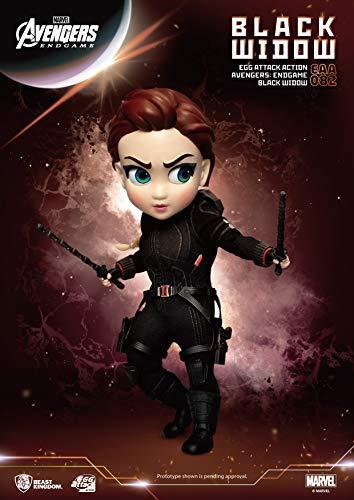 41WsRTJJ49L Avengers Endgame: Black Widow EAA-082 Egg Attack Action Figure