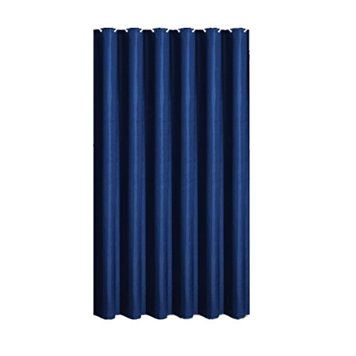 Durable Modeling BAIHT HOME Solid Color Shower Curtain Polyester Fabric Waterproof Mildew Free Elegant Navy