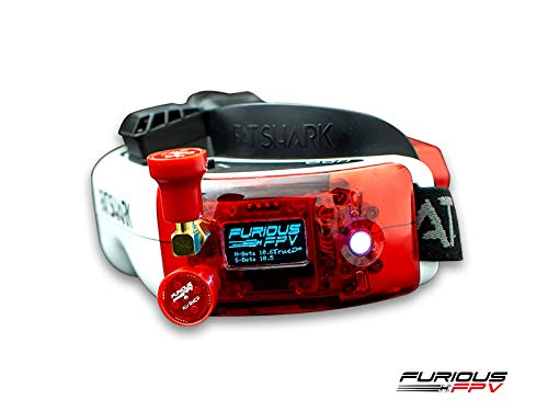 FuriousFPV True-D X (for Fatshark Dominators) - Red