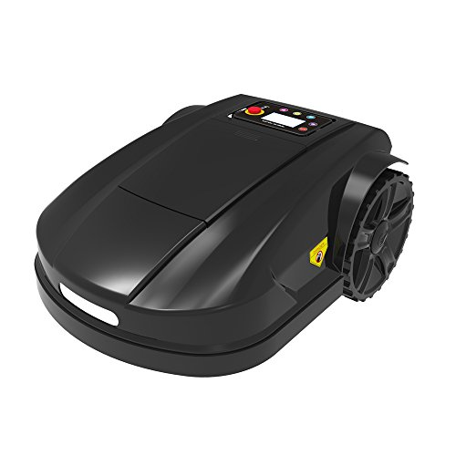 Ancaixin Black Automower Robotic Lawn Mower Wireless Cordless Electric for Home Graden Cleaning