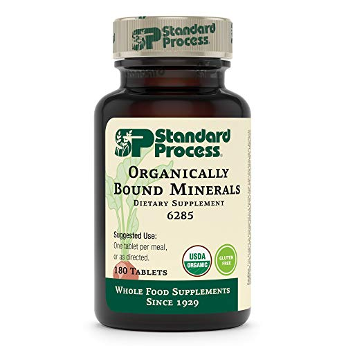 Standard Process - Organically Bound Minerals - 180 Tablets