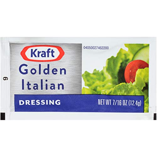 Kraft Golden Italian Dressing (2 oz Packets, Pack of 200)
