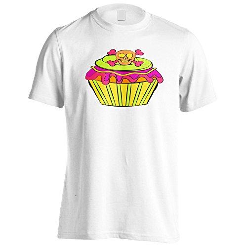 Neue Schädelkuchen Halloween Herren T-Shirt l934m