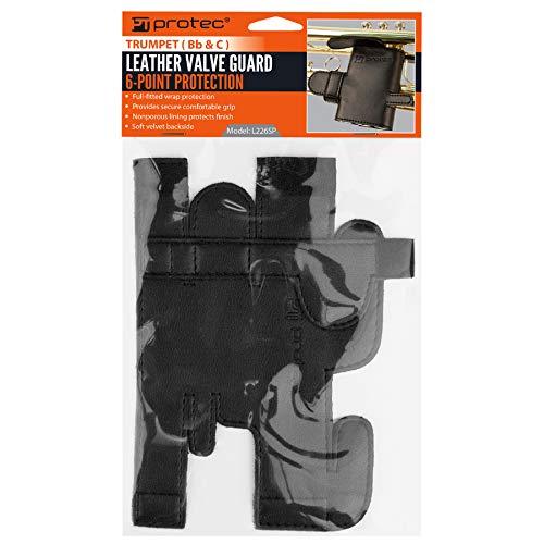 Amazoncom Pro Tec L226sp Trumpet 6 Point Leather Valve Guard