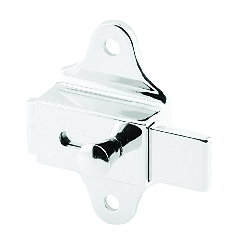 Sentry Supply 650-7184 Surface Slide Latch, 3-3/8 inch overall height, Chrome Plated Zamak, Pack of 1 ()