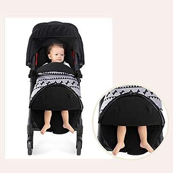 Saco de Silla de Paseo Invierno Dormir de Bebé Térmico Universal para Cochecito Resistente al Viento y al Agua