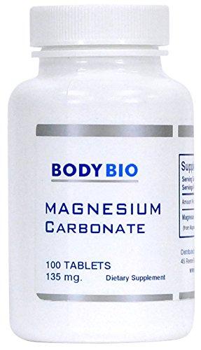 BodyBio - Magnesium Carbonate, 135mg, 10 - Magnesium Bicarbonate Shopping Results