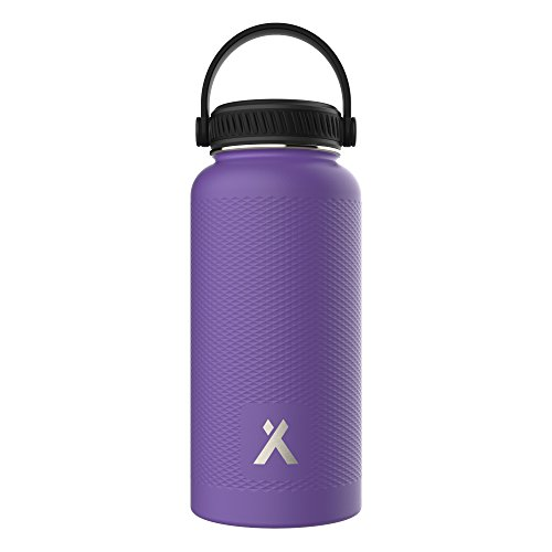 Extra Bottle Mug (Vacuum Insulated Stainless Steel Water Bottle, Easy Drinking Mouth with Leak-Proof Cap, Lightweight and BPA Free)