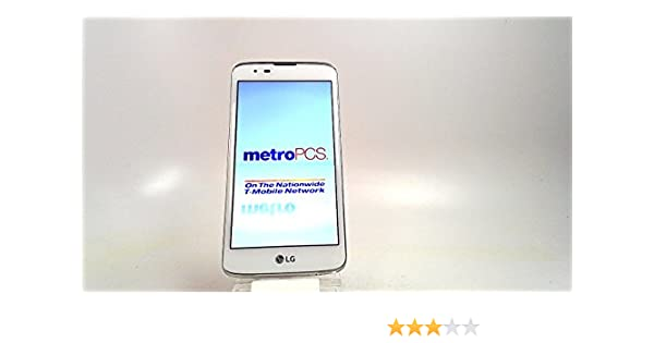 Amazon com: LG MS 330 K7 White (METRO PCS) - NOT UNLOCKED