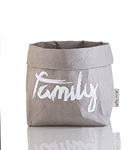 Decorative Washable Paper Bag | Reusable Eco Friendly Basket By BrownBag |  Decorate U0026 Personalize Your House | Convenient Food U0026 Lunch Storage With  Variety ...