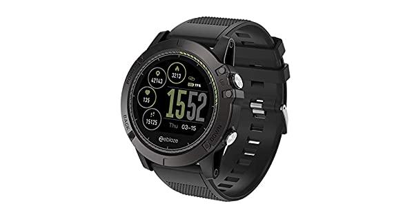Amazon.com: Cywulin Zeblaze Vibe 3 HR Smart Watch Fitness ...