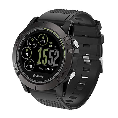 Zeblaze Vibe 3 HR Smart Watch Phone Sports Men Smartwatch for iOS/ Android]()