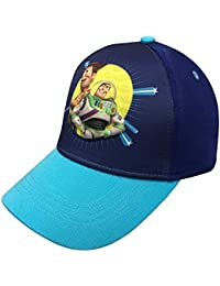 Pixar Toy Story 4 Boys 3D Baseball Cap with Tom Hanks and Tim Allen Age 4-7 Blue