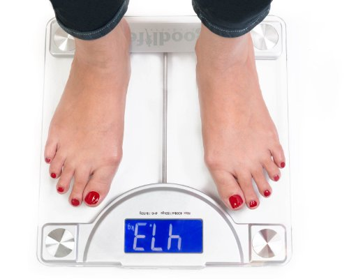 Authentic Goodlifeproducts Precision Digital Bathroom Weighing Scale W Extra Large Display 400