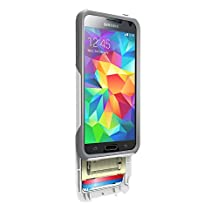 Otterbox [Commuter Series] Wallet Case for Samsung Galaxy S5 - Retail Packaging Protective Case for Galaxy S5 - Glacier (White