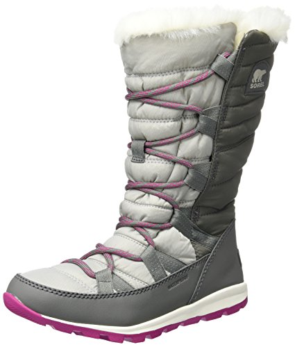Sorel Whitney Lace, Stivali da Neve Donna Grigio (Quarry)