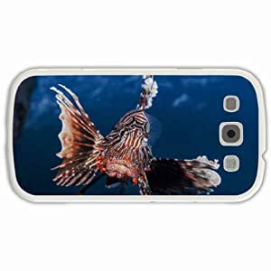 Personalized Samsung Galaxy S3 SIII 9300 Back Cover Diy PC Hard Shell Case Fish White