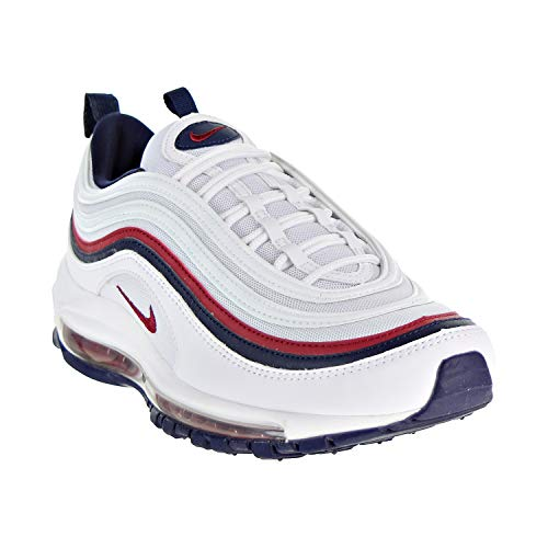 Chaussures 102 de Blackened Femme Red W 97 Blue Crush Running White Multicolore Air Compétition Nike Max ZIXxq