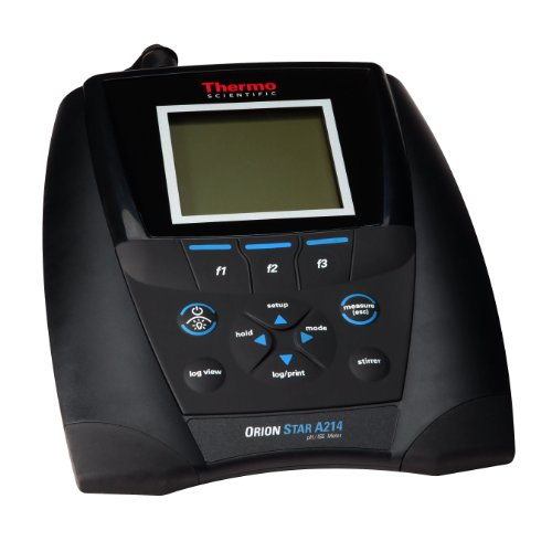 Thermo Scientific Orion Star A214 pH/ISE/mV/Temperature Multiparameter Meter, -2.000 to 20.000 pH Range