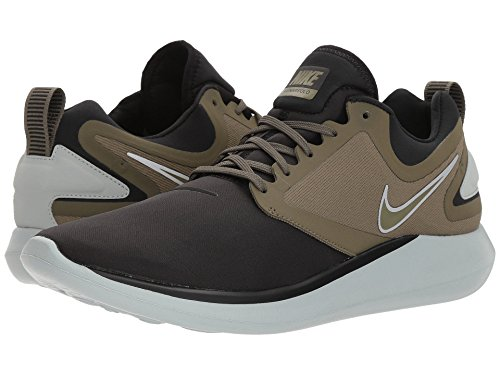 [NIKE(ナイキ)] メンズランニングシューズ?スニーカー?靴 LunarSolo Black/Medium Olive/Light Pumice/Volt 10 (28cm) D - Medium