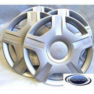 """Ford Genuine Parts - Juego de tapacubos Fiesta MK6 (14"""", ..."""