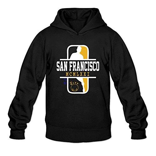 GOLDEN STATE The City WARRIORS TEAM Hoodie Sweatshirt Man's Black