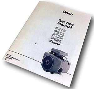 Amazon.com: Onan Engine 16 18 20 24 Hp Service Repair ...