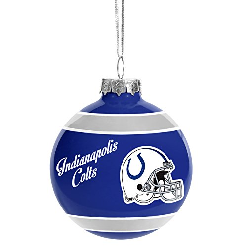 Indianapolis Colts 2016 Glass Ball Ornament