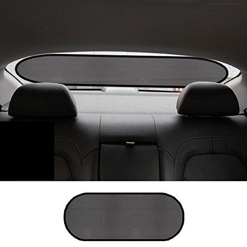 Zone Tech Clear Car Sun Stop Shade Premium Quality Mesh Rear Window Shade