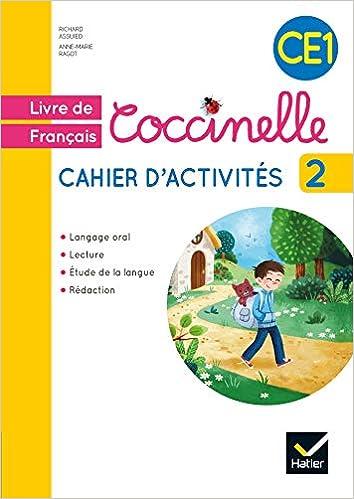 Livre De Francais Coccinelle Ce1 Cahier D Activites 2