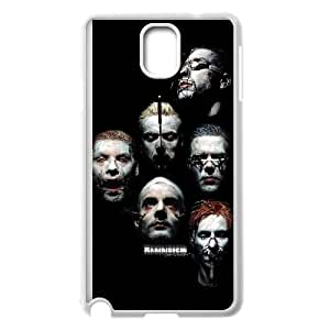 Rammstein 001 Samsung Galaxy Note 3 Cell Phone Case White Customized gadgets z0p0z8-3627226