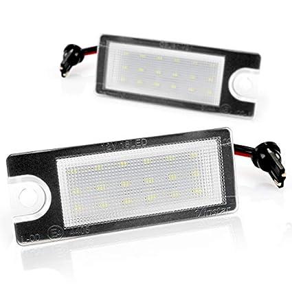 LED de matr/ícula con Autorizaci/ón