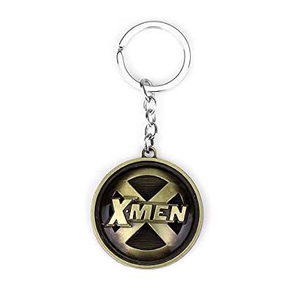 TUDUDU Moda Película Joyería Marvel Comics X-Men Llavero ...