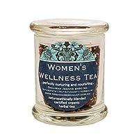 Organic Merchant Certified Organic Goji Berry Women's Wellness Tea Glass Jar 80 g