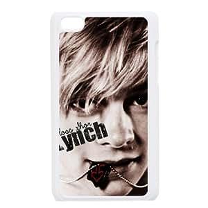 Rock Band R5 Plastic Snap On Case For Ipod Touch 4 (Black, White) Kimberly Kurzendoerfer