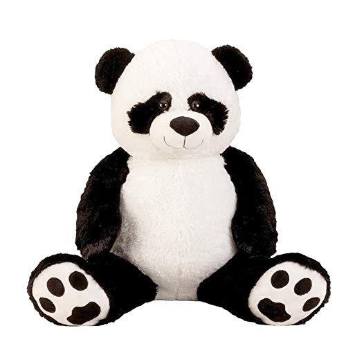 5.2 Foot 160CM Giant Teddy Stuffed Panda Bears Lifelike Big Stuffed Plush Toy Best Gift Birthday Christmas Valentine Anniversary (5.2 Foot(62inch, 160CM))
