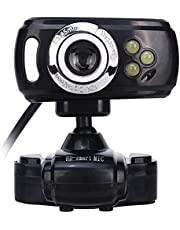 FANPING Webcam USB Camera Computer Camera With Microphone Video Teaching Conference