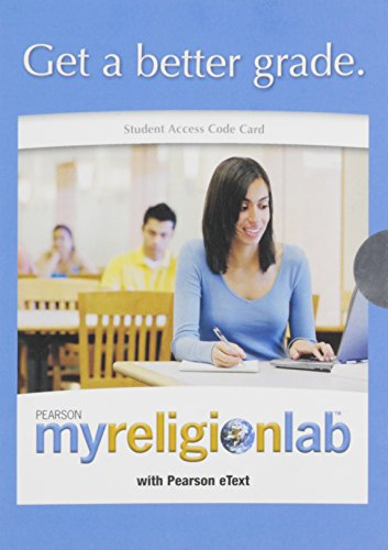 MyLab Religion with Pearson eText -- Valuepack Access Card