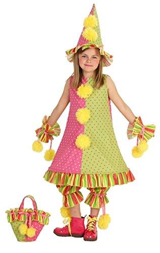 Princess Paradise Carnaval Clown Costume (Clowning Around Adult Womens Costumes)