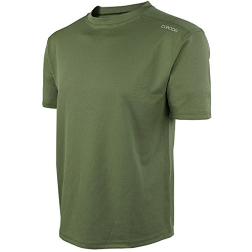Condor Outdoor MAXFORT Performance Training Top (X-Large, Olive Drab)
