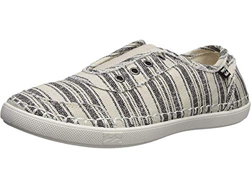 Billabong Women's Cruiser Sneaker, Black, 8.5 M US