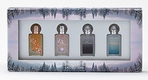 American Eagle Outfitters Quad Perfume set EDT Live Your Life Aeo Vintage Aeo Me Aeo Wanderlust