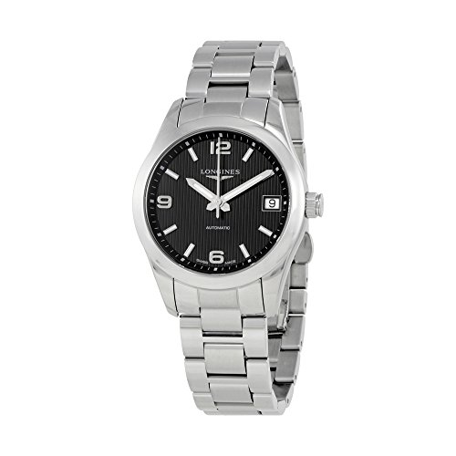 Longines Conquest Black Dial Automatic Ladies Watch L2.385.4.56.6