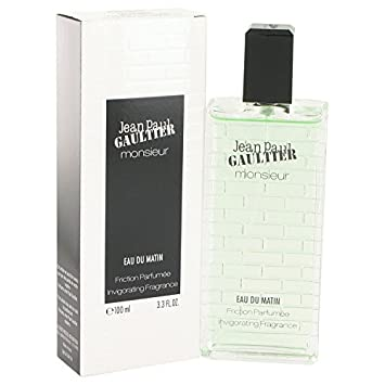 Amazon.com : Jean Paul Gaultier Monsieur Eau Du Matin Cologne By JEAN PAUL GAULTIER 3.3 oz Friction Parfumee Invigorating Fragrance FOR MEN : Beauty