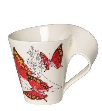 "Villeroy & Boch NewWave Caffè Taza de café ""Fountainea nobilis"", 300 ml"