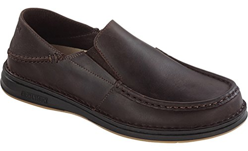 Dark Brown Leather Loafer (Birkenstock Womens Duma Loafer Dark Brown Oiled Leather Size 38 EU (7-7.5 M US Women))